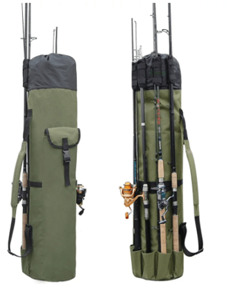 Fishing Rod Holders Bag : fish catching