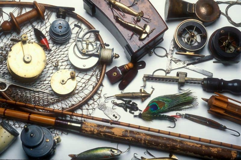 how to use a Vintage Fishing Tackle